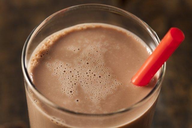 4. Leite com chocolate