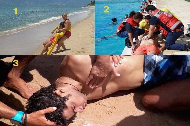 O que fazer em caso de afogamento