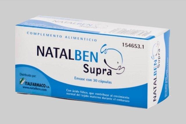 Natalben - Suplemento para a gravidez