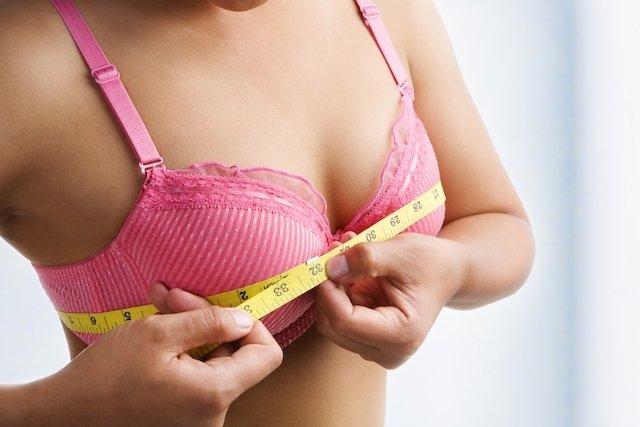 Crescimento das mamas na gravidez