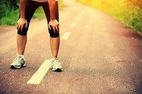 Dor nas pernas devido ao cansaço