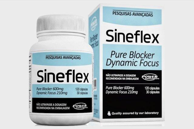 Sineflex - Suplemento Queimador de Gordura e Termogênico
