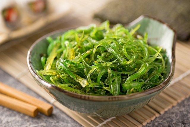 Como preparar algas marinhas
