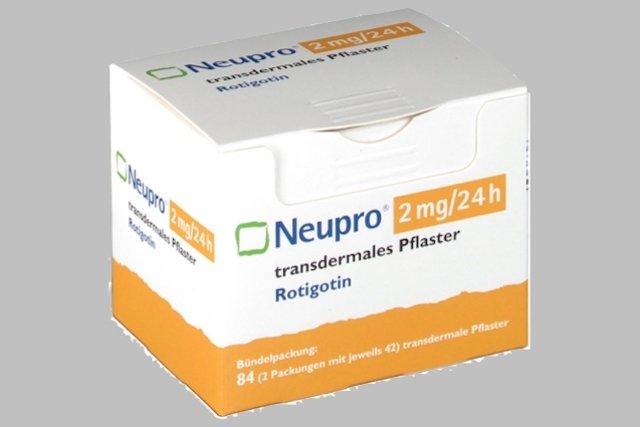 Adesivo Neupro para tratar a Doença de Parkinson
