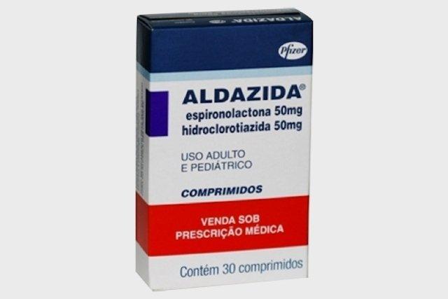 Aldazida - Remédio diurético para o inchaço