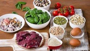 Alimentos con hierro (incluye una lista)