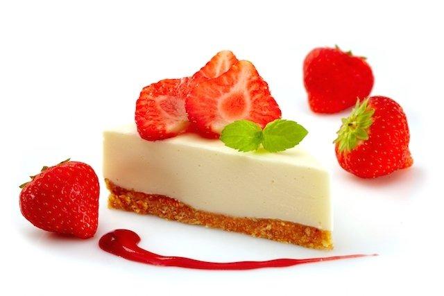 Receita de cheesecake da dieta Dukan