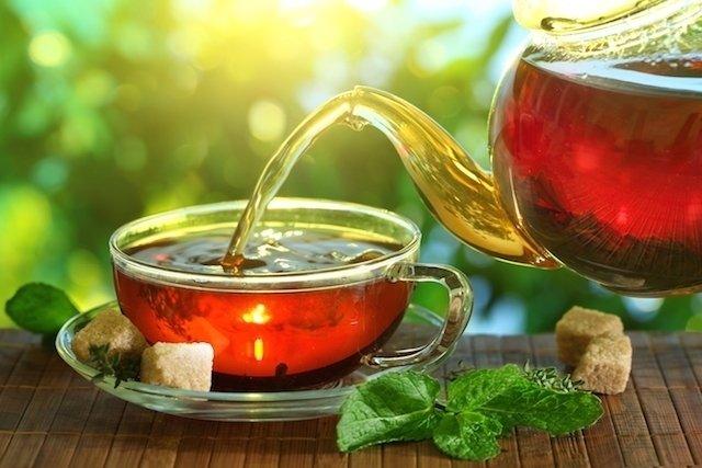 Chá Caseiro para melhorar o Humor