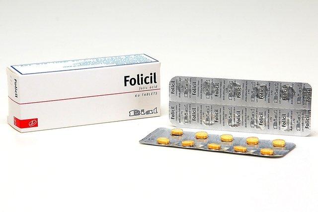 Comprimidos de ácido fólico - Folicil