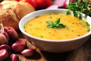 Sopa de legumes detox