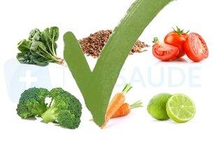 Alimentos de origem vegetal permitidos na dieta da proteína