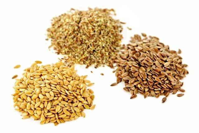 Deve-se preferir consumir a linhaça dourada na forma de farinha