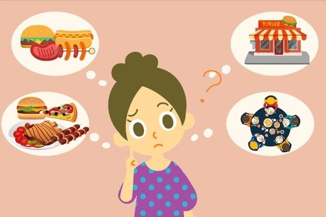 Você pensa em comida o tempo todo?