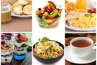 Exemplo de diário alimentar com fotos