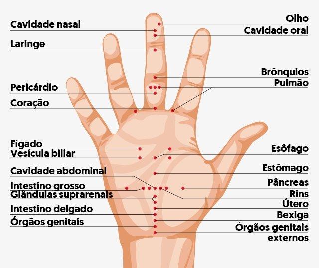 Onde estão os principais pontos de acupuntura