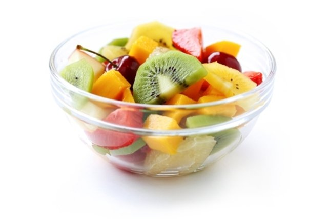 Comer fruta ou gelatina como sobremesa