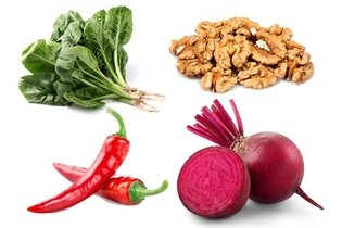 Alimentos ricos em oxalatos
