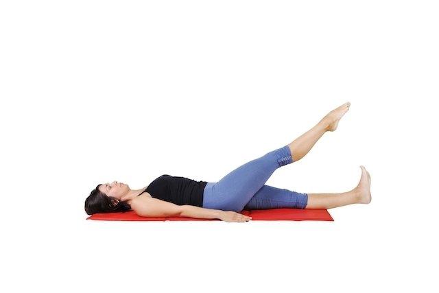 Direita dor perna exercícios coxa gravidez
