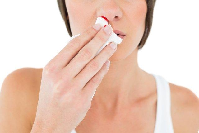 O que pode ser ferida no nariz