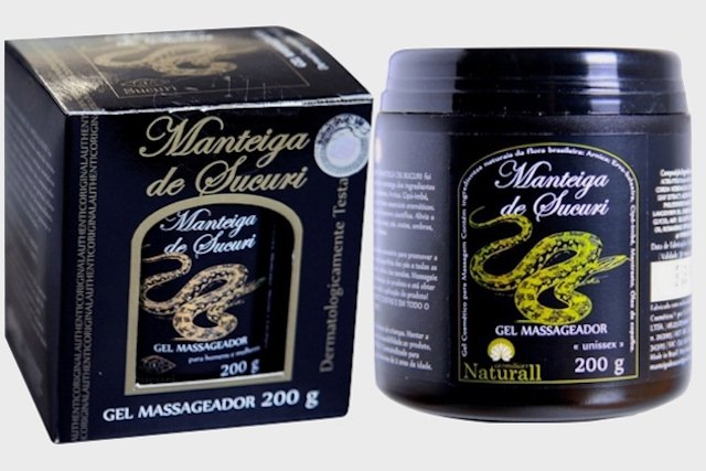 Gel Massageador de Manteiga de Sucuri