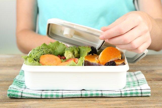 Cardápio saudável para levar comida para o trabalho