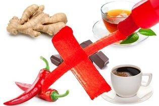 Alimentos que causam insônia
