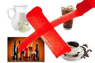 Bebidas que deben ser evitadas en la gastritis