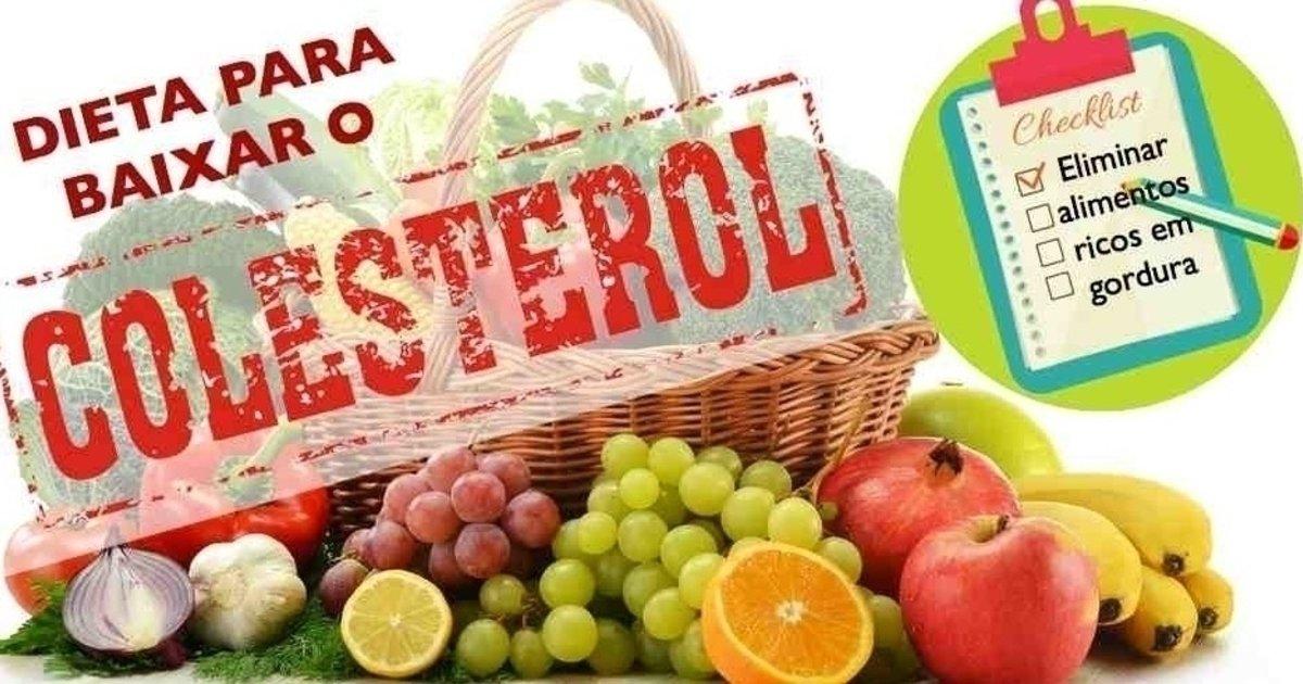 dieta baja en colesterol ejemplos