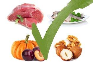 Alimentos permitidos na dieta