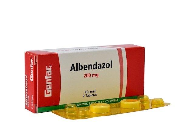 Albendazol - Medicamento para Parásitos intestinales