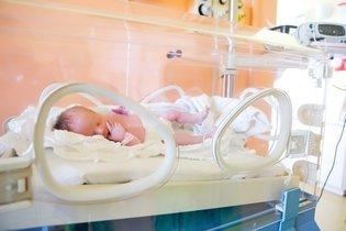 Bebê prematuro na UTI neonatal
