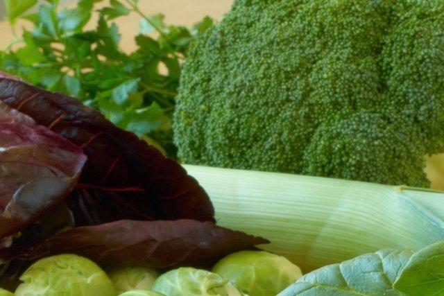Alimentos de hojas verdes tienen un alto contenido de ácido fólico