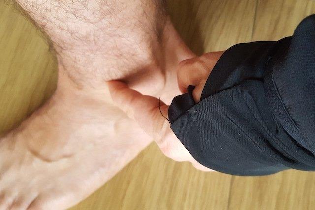 Sintomas de entrose no tornozelo e como é o tratamento