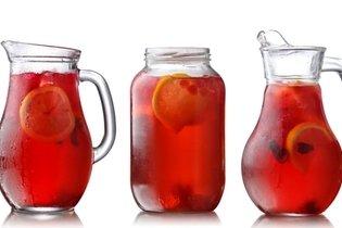 Beber agua, jugo o té sin azúcar