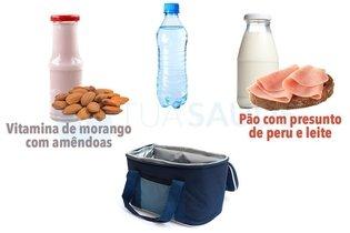 Outros exemplos de merendas saudáveis