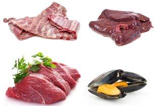 Alimento ricos em ferro de origem animal