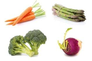 Hortaliças da dieta das calorias negativas