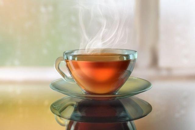 Chá de macela e própolis