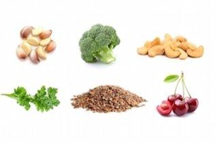 Alimentos que ajudam na eliminação do mercúrio
