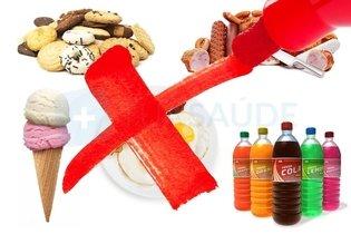Alimentos proibidos na dieta da maçã
