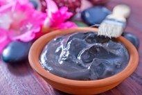 Textura ideal da argila medicinal