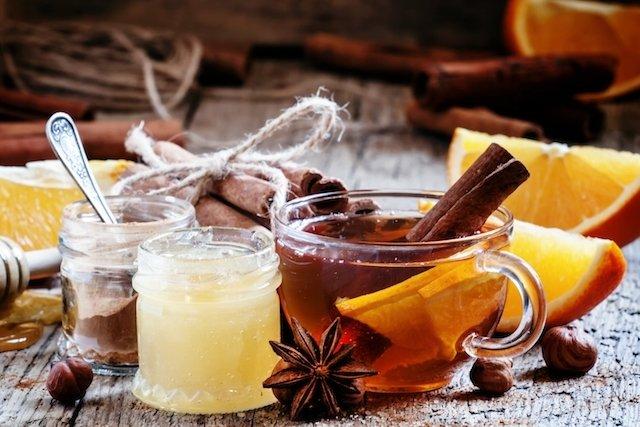 3 Chás de laranja para gripe e resfriado