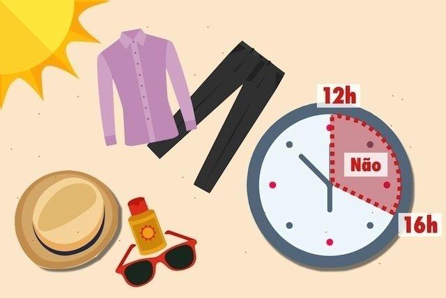 Melhor hora para pegar sol e como proteger a pele tua sa de for Del sol horario
