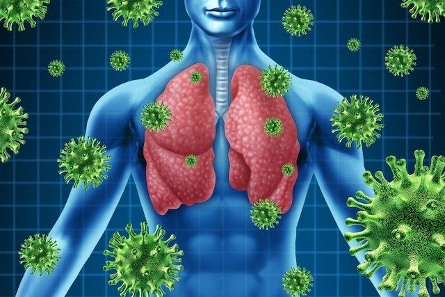 Tratamento para infecção pulmonar