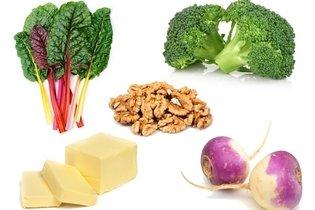 Outros alimentos pobres em carboidratos
