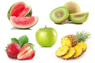 Frutas ricas em água