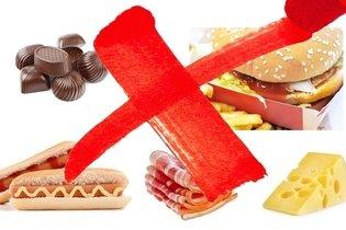 Alimentos que deben ser evitados en la gastritis