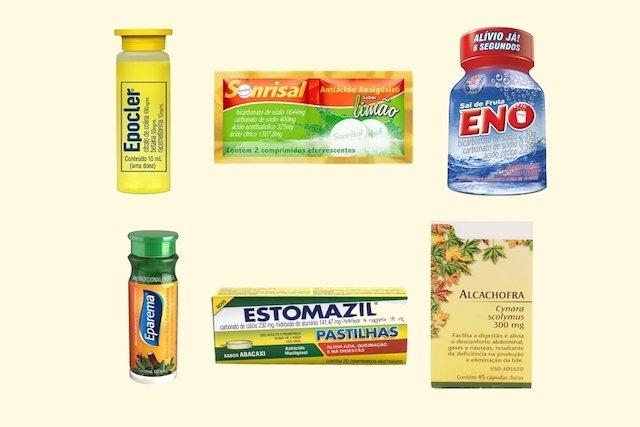 Remédios para Má Digestão