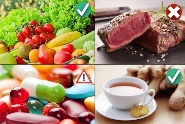 dieta para gastritis natural
