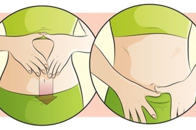 Automassagem para perder barriga